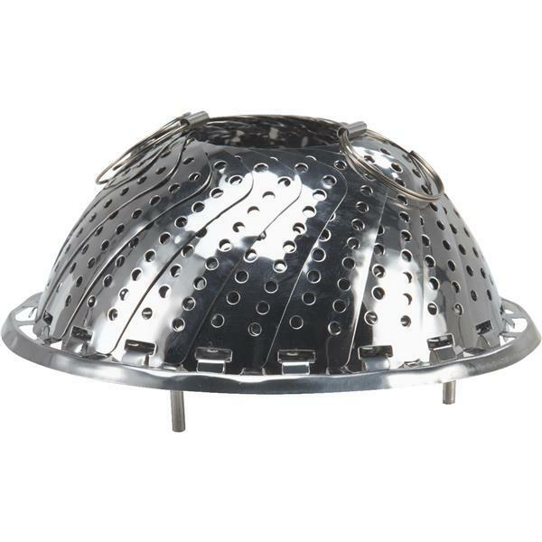 (6)-Norpro 5.5  to 9.25  Diameter Diameter Diameter Stainless Steel Vegetable Steamer Basket 176C bf2813