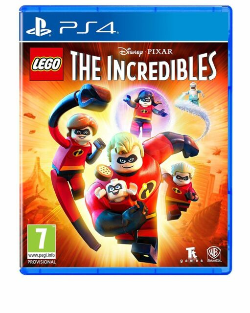Lego The Incredibles Playstation 4 Game Ps4 2018 For Sale Online