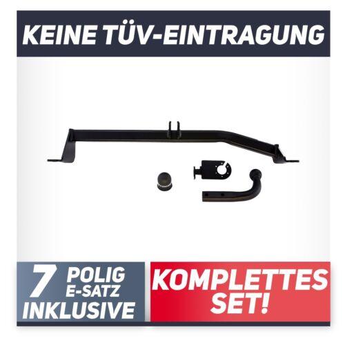 Für Toyota Yaris Verso 99-06 Anhängerkupplung starr+E-Satz 7p