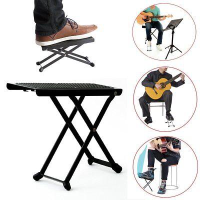 Folding Guitar Foot Stool Guitar Foot Rest Pedal Guitarist