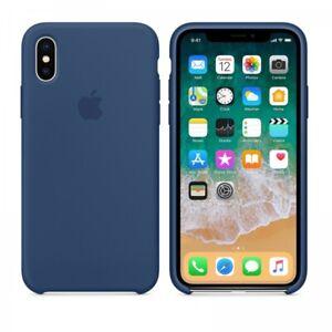 Dettagli su Apple Cover iPhone X Blu cobalto