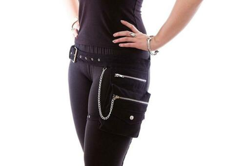 Necessary Evil Gothic Sin Alternative Punk Tasche Holster Hüfttasche N1229