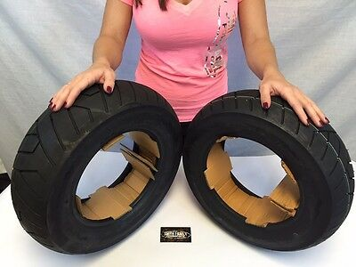 NEW Vee Rubber YAMAHA ZUMA SCOOTER TIRE SET 1 Front 120/90-10 1 Rear 130/90-10