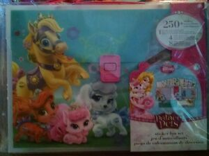 e331c5235a8f Details about Disney Princess Palace Pets Sticker Activity Kit Fun Set  Travel Carrying Case
