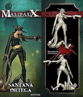 Malifaux Santana Ortega-Alternate Santiago Guild édition limitée Latigo Posse