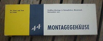 * Montagegehäuse * Modell 1060 * Für Din Links Und Rechts Türöffner-montage * üPpiges Design