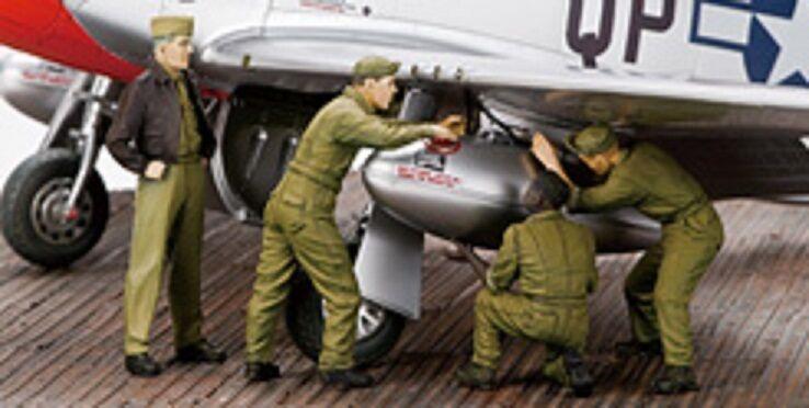 ZOUKEI-MURA P-51D FUEL TANK ATTACHMENT SET Scala 1 32 Cod.SWS04-F07