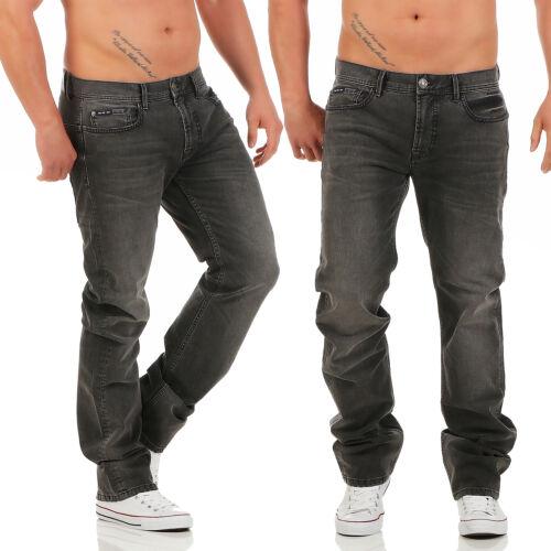 Big SEVEN-Dan-Chicago WASH-Regular-OVERSIZE-Jeans Uomo Pantaloni Nuovo