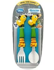 New Disney Store Monsters University Terry Terri Flatware Set  Spoon Fork Pixar