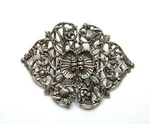 Antique Late Victorian B'Ham 1900 Sterling Silver Double ...