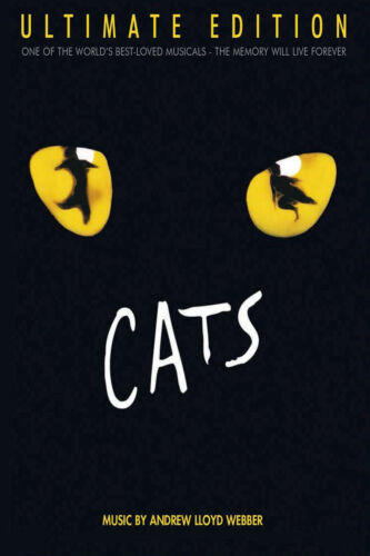 Cats 2019 Musical Movie Poster Rebel Wilson Judi Dench Print Fabric Art X-25