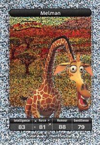 Card-Carrefour-Dreamworks-Madagascar-Melman-Card-Titanium-No-83