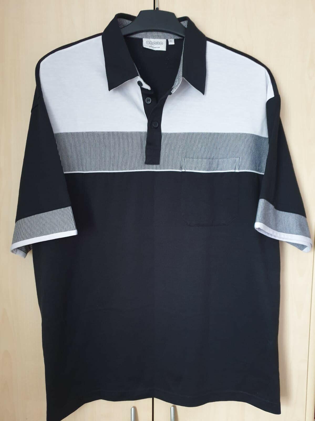 Herren T-Shirt, Gr. XL,Mehrfarbig, Kurzarm, mit Muster