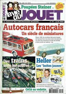 TempéRé La Vie Du Jouet N°77 2002 Autocars Français Poupées Steiner Gégé Maquette Heller Soyez Astucieux Dans Les Questions D'Argent