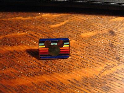 Mickey Mouse LGBT Lapel Pin - Walt Disney Gay Pride Rainbow Queer LGBTQ Hat Pin