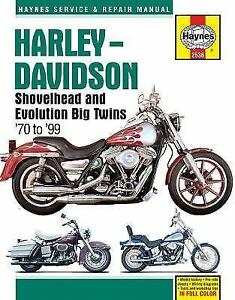 1970-1999 harley shovelhead repair service workshop manual book guide 21731  | ebay  ebay