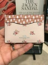 MFSRP $65 Coach NWT Card Case with Ditsy Floral Print F58717