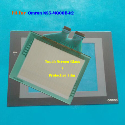 Protective Film New For Omron NS5-MQ00B-V2 NS5MQ00BV2 Touch Panel Glass