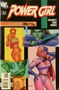 Power-Girl-Vol-1-5-como-Nuevo-NM-Dc-Comics-Edad-Moderna