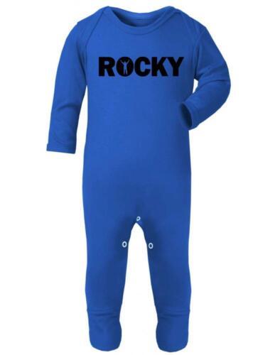 Rocky Romper Baby Suit Sleep Baby Romper /' ROCKY /' Boxing
