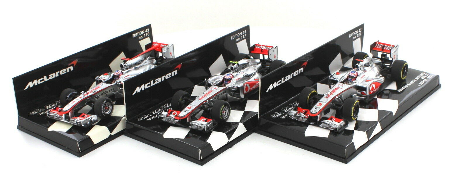 Jenson Button Race Car Set 1 43