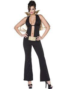 Elvis Presley Damen Kostum Las Vegas Karnevalskostum Fasching