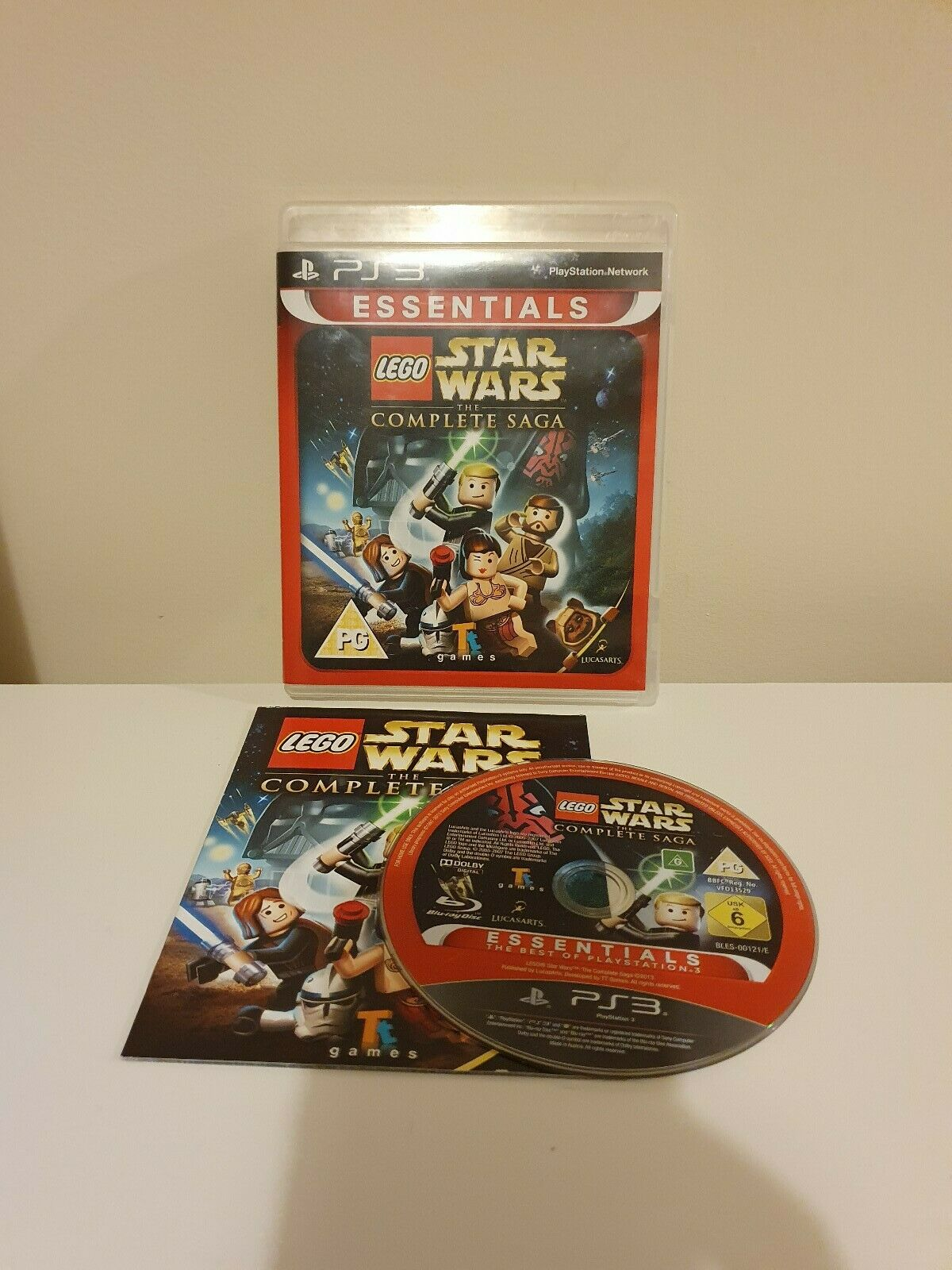 LEGO Star Wars: The Complete Saga (PS3), Good - pas cher StarWars
