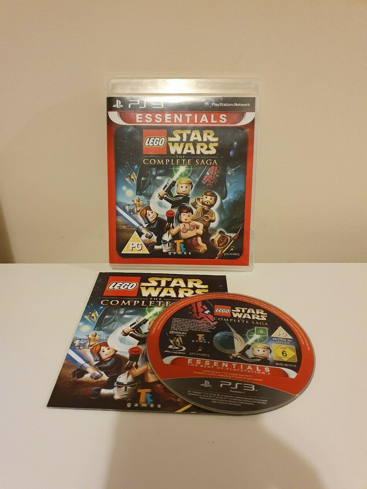 LEGO Star Wars: The Complete Saga (PS3), Good - pas cher StarWars