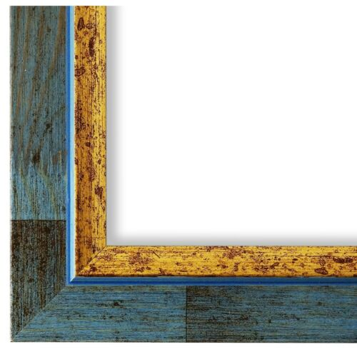 New All Sizes Picture Frame in Light Blue Retro Modern Style Wood Catanzaro 3,9