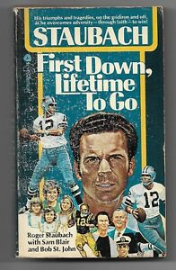 1976-Stabauch-First-Down-Lifetime-to-Go-Paperback-Book