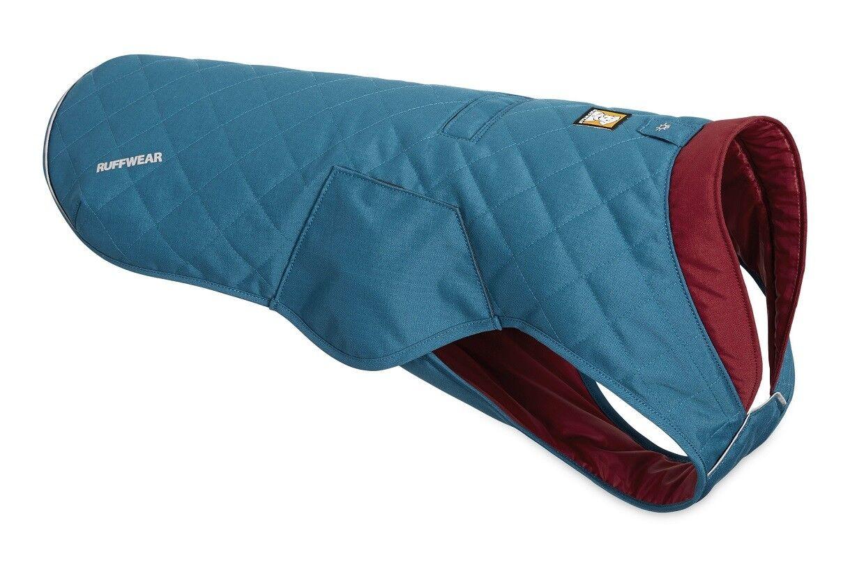 Ruffwear Stumptown Giacca Isolamento Cappotto per Cane 0595 425 Metolius Blu