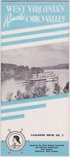 1940's West Virginia's Romantic Ohio Valley Brochure