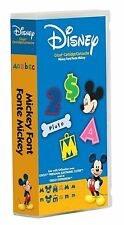 *New* DISNEY MICKEY FONT Letter Number Cricut Cartridge Factory Sealed Free Ship