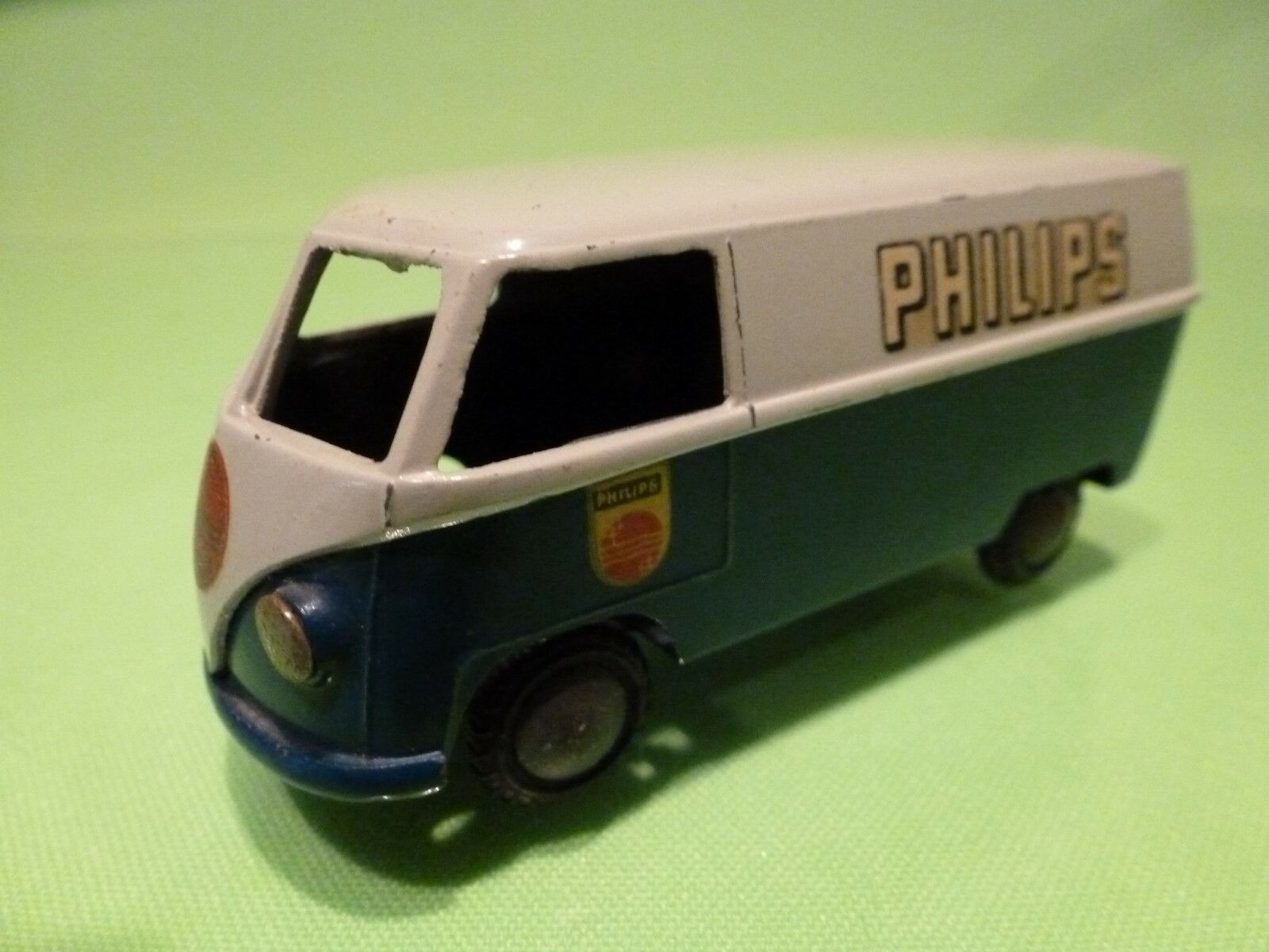 TEKNO DENMARK - 1 43 VOLKSWAGEN T1 BUS  PHILIPS WERBE  - NEAR MINT CONDITION