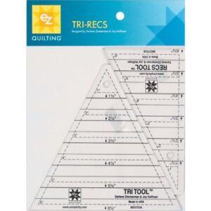 EZ-Quilting-Tri-Recs-Tools-Acrylic-Template