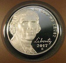2017 S Jefferson Nickel 1 Deep Cameo Proof Coin