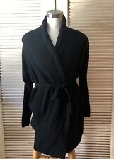 UGG Australia Womens Evie 100 Cashmere Wrap Robe Gray Small for sale ... 3e69333f6