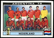 Argentina 78 Nederland #118 World Cup Story Panini Sticker (C350)