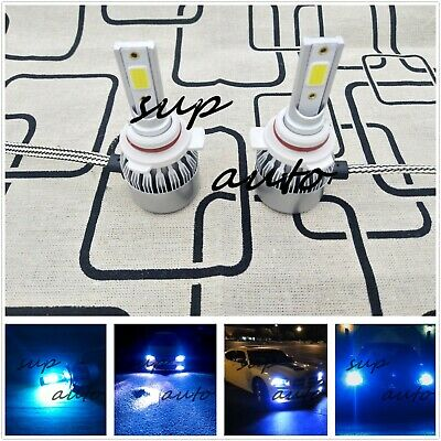 55w Upgrade ICE Blue Xenon HID High//Low//Side Light Beam Bulbs Kit//Set