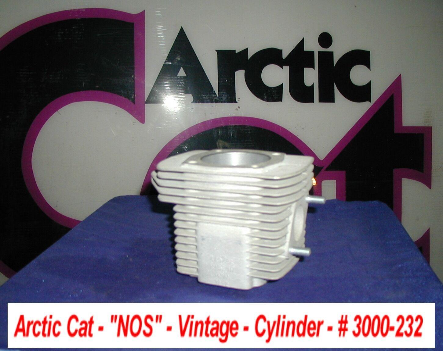 Arctic Cat NOS Cylinder Vintage '71-'73 Puma New   440A