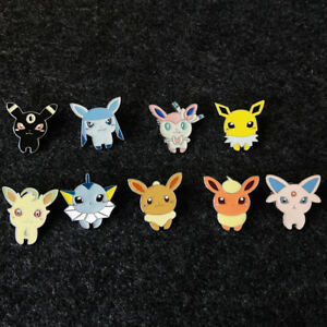 Details about Creative Lovely Japanese Anime Brooch Cartoon Pokemon Elf  Pins Badge Kids Gifts