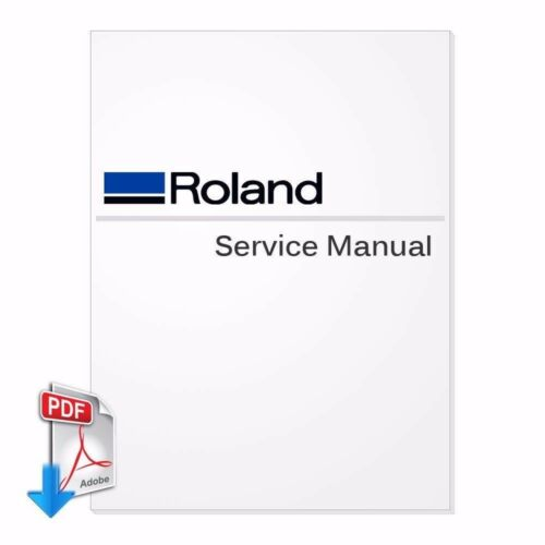 ROLAND VersaCamm SP-300 File Send by Email SP-300V Service Manual PDF