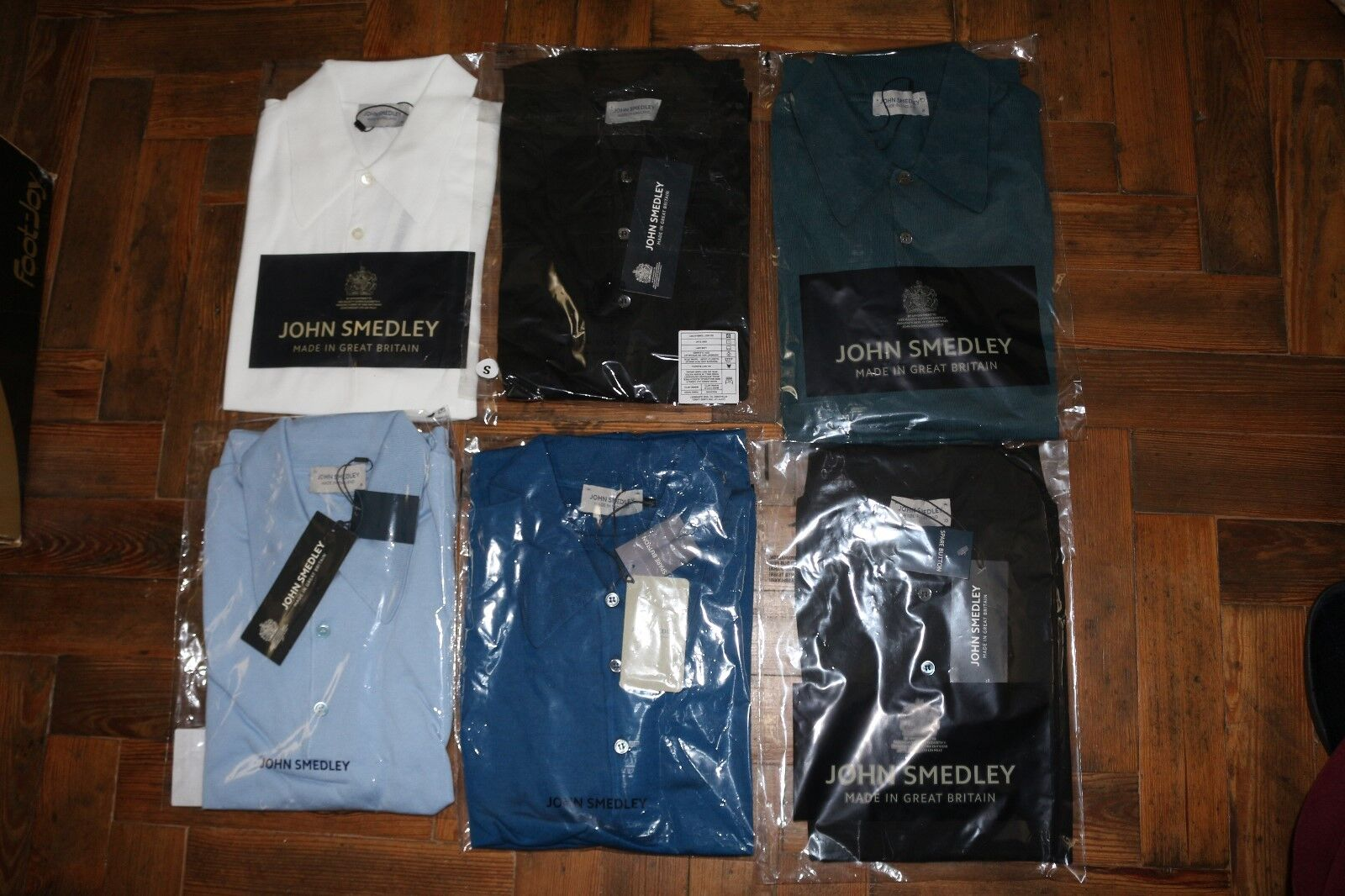 John Smedley 100% 100% 100% Sea Island Cotton ISIS Polo Shirt BNWT   Günstige Preise  5ba95b