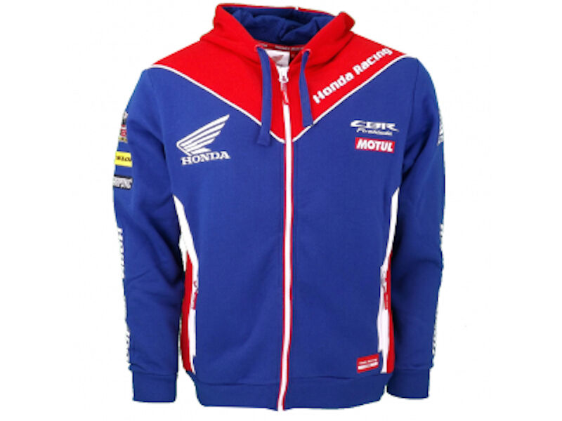 Official Honda Endurance Racing Hoodie Zip Up Sweatshirt - 16HFL