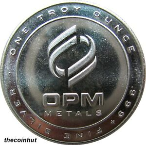 1-Troy-oz-999-OPM-Fine-Pure-Silver-Round-Made-in-USA-PROOF-LIKE-CoinHut5146