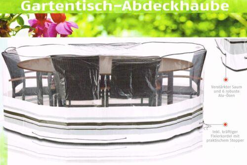 Florabest® Gartentisch Abdeckung 160x230x90 cm für ovale Tische Schutzhülle Neu