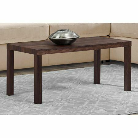 Mainstays Parsons Coffee Table Lightweight Canyon Walnut