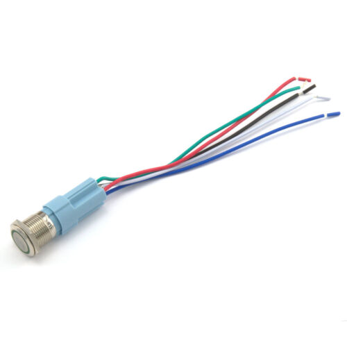 Aluminium Metal 3A Power LED 12V//24V Momentary or Latching Button Switch