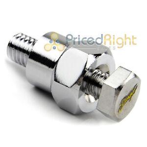 Stinger-GM-Short-Battery-Side-Post-Terminal-Tap-Extender-Mount-ShocKrome-Plating