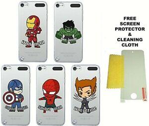 Dessin Anime Super Heros Marvel Dc Housse Protecteur D Ecran